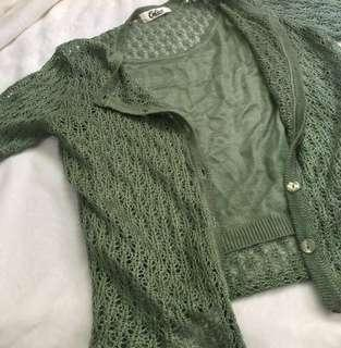 Calico Knitted Top (inner top included)