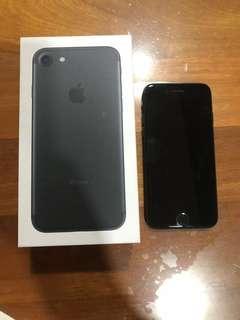 Iphone 7, 128 GB in Black Colour