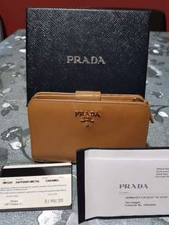def7151872ad Authentic Prada Wallet, Luxury, Bags & Wallets, Wallets on Carousell