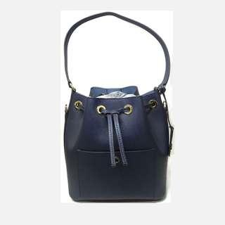 BRAND NEW MICHAEL KORS BUCKET BAG IN NAVY BLUE