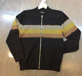 Men knitwear jacket size M