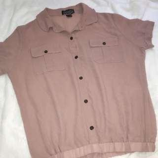 Old rose-colored Blouse