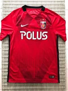 Nike💯% Authentic J-League Urawa Red Diamonds 2017 jersey for SGD$57 (size S)