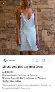Maurie And Eve Leyenda Light Blue dress size 8