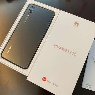 衛訊行貨 Huawei P20 黑色 保至4/2019