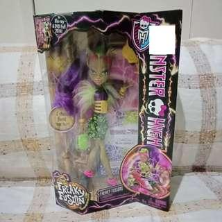 MONSTER HIGH Freaky Fusion Freaky Fusions Clawvenus Doll