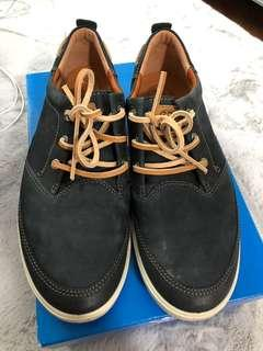 Ecco Navy Casual Shoes