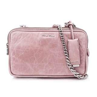 Miu Miu Shine Club Shoulder Bag
