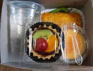 Snack box donat