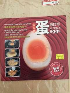 Recipe book - All about eggs