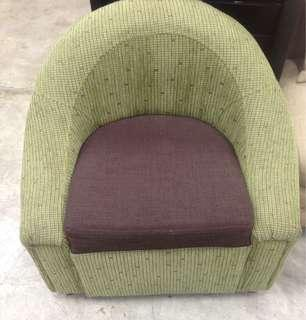 Armchair Upholstered Fabric