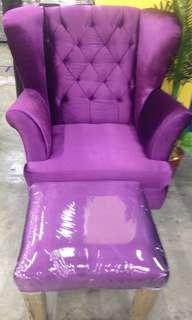Sofa Single Seater Fabric
