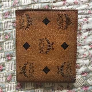 Authentic MCM Bifold Wallet