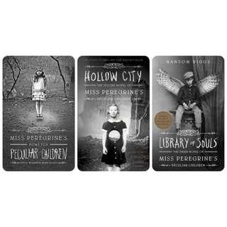 Miss Peregrine's Home for Peculiar Children Novel by Ransom Riggs