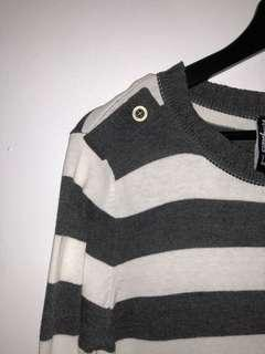 Stripes Knitted Shirt