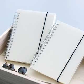A5 Grid Spiral Notebook [Free NM]