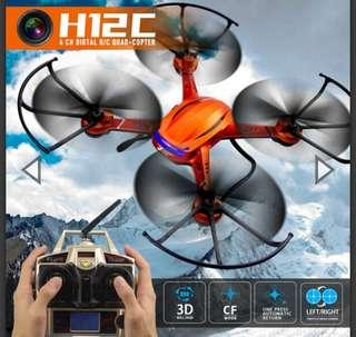 JJRC H12C Rc helicopter 2.4G 4CH Headless Mode One Key Auto Return RC Quadcopter drone with Camera