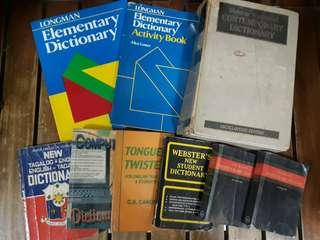 Different kinds of Dictionary