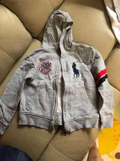 95% new Ralph Polo hoodie 九成半新Polo有帽衞衣
