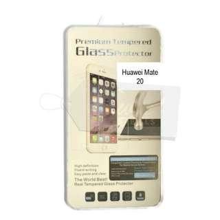 🚚 9H Tempered Glass Screen Protector Huawei Mate 20 (Clear)