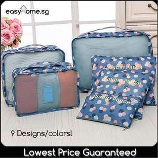 🚚 1 WEEK OFFER!!! TV03- Laundry Pouch (6pcs Set) - 9 designs available