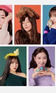 LF/WTB Red Velvet Official and Unofficial Stickers