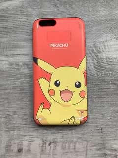 Authentic Pikachu iPhone 6 Case with Card Holder