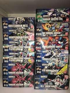 HGBF Gundam Kits