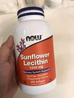 NOW Foods Sunflower Lecithin For Plugged/Clogged Milk Duct