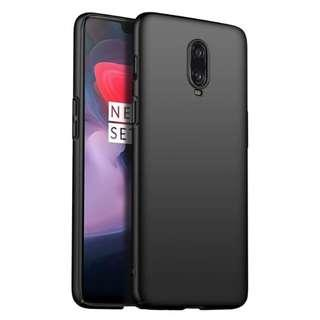 🚚 MOFI Slim Frosted Full Cover PC Hard Case Oneplus 6T  -Black