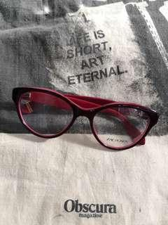 Authentic Zac Posen Honor in Berry Acetate Frame ($207)
