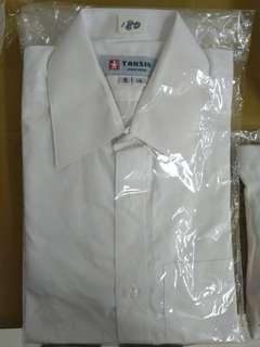 🚚 男士長袖白襯衫(領圍14,15都有),可搭西裝