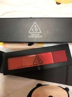 3CE Lip colour palette brand new
