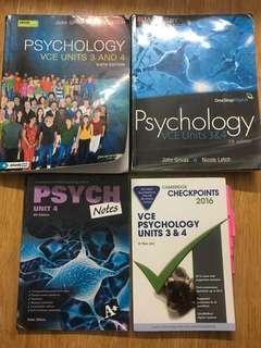 Psychology 3/4 bundle deal plus notes/posters