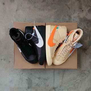 Off White x Nike Blazer Mid