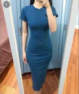 Bodycon Dress (Teal)