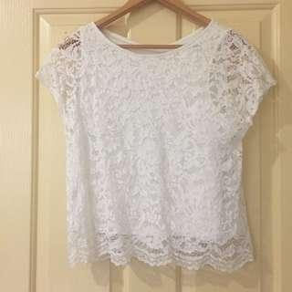 White Lace Top (8)