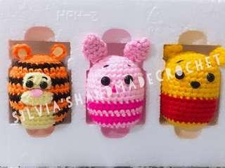 🎄 Crochet Tsum Tsum Pooh & Friends