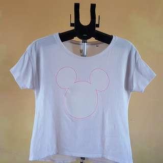 Uniqlo Boxy Mickey Mouse Top