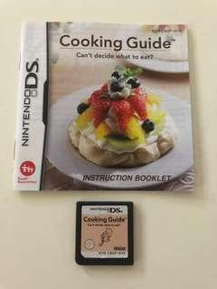 Nintendo DS Cooking Guide Game