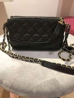 Chanel Gabrielle clutch with chain WOC
