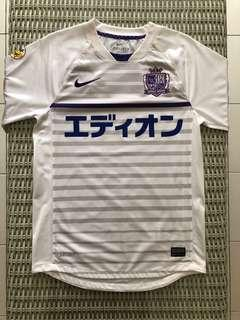 Nike💯% Authentic J-League Sanfreece Hiroshima jersey for SGD$37 (size S)