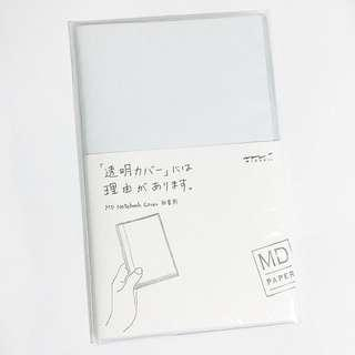 midori A6 clear pvc notebook cover