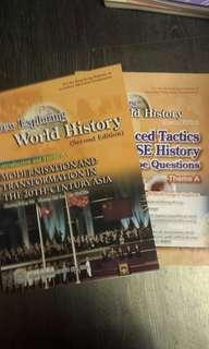 New Exploring World History(Asia) +essay type question book
