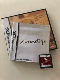 Nintendo DS Nintendogs Duchshand And Friends Game