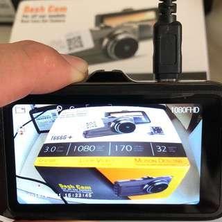 New FHD 1080p Car Camera - Front & Rear Reverse