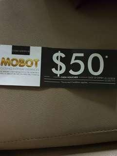 Mobot cash voucher