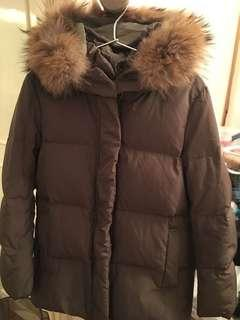 Fray id down jacket , snidel, lily brown 女裝羽絨