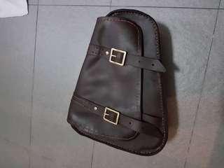 Handmade genuine leather Saddle Bag