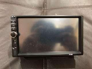 Double din touch screen mp5 player